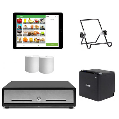 "Loyverse Bluetooth POS System with the Apple iPad 9.7"" Bundle #17"