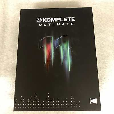 Native Instruments - Komplete 11 ULTIMATE / full retail version with NI 500gb HD