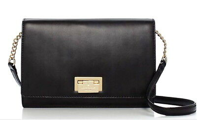 42d190faaa NWT Kate Spade Fiona Harwood Place Crossbody Shoulder Bag Black Leather   248 NEW
