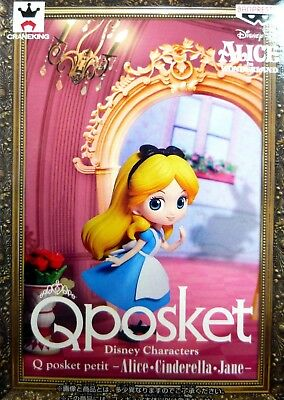 Q posket petit Disney Characters Alice / Alice in Wonderland / 100% Authentic!