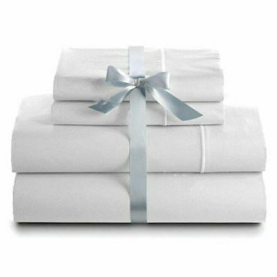 AU 1000TC Comfort Soft Bed Sheets Sets Fitted Flat Single/Double/Queen/King Size