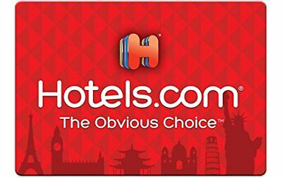 Hotels.com Giftcard 25$ USD