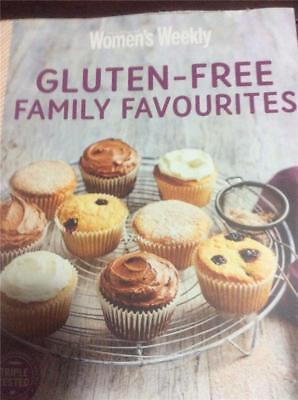 Australian Womens Weekly cookbook GLUTEN FREE, family favourites recipes chef