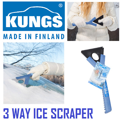 KUNGS Mid-IS Car Ice Scraper - Made In Finland  - Quality Product