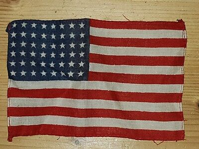 Ww2 us airborne Paratrooper rare Flag Insigne wwii t5 parachute relic d day