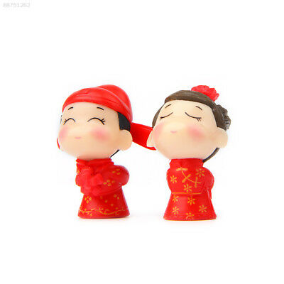 8864 Mini Couples Doll Lightweight Cute Party Collection Room Decoration 2pcs