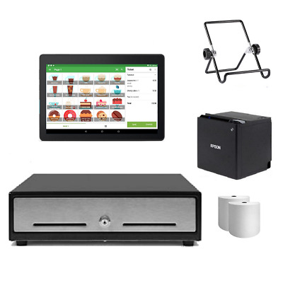 Loyverse Bluetooth POS Hardware with Android Tablet Bundle #6