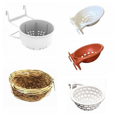 CANARY NEST PANS / BOX CAGE HANGING for NESTING CANARIES & BIRDS