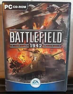 Battlefield 1942 PC CD ROM Game By EA Games - EXCELLENT CONDITION