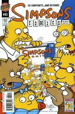 Simpsons Comics #  85 Very Fine (VFN) Bongo Comics MODERN AGE