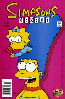 Simpsons Comics # 111 Very Fine (VFN) Bongo Comics MODERN AGE