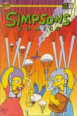 Simpsons Comics #  16 (VFN+) (VyFne Plus+) Bongo Comics ORIG US