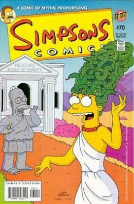 Simpsons Comics #  70 (VFN+) (VyFne Plus+) Bongo Comics ORIG US