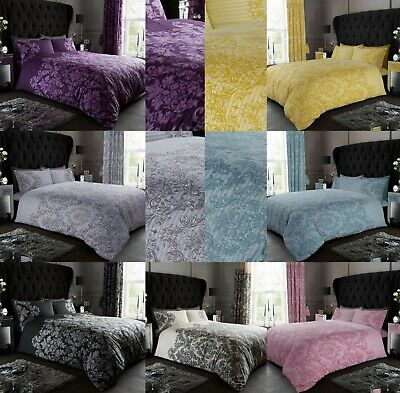 Damask New Design Duvet Cover with Pillow Case Quilt Cover Single Double King