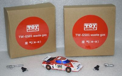 New ToyWorld Transformers TW-GS01 Waste gas TW-GS02 Whisky Jack Figure In Stock
