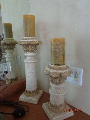 PAIR JARU HARRIS Marcus Group Candleholders 25