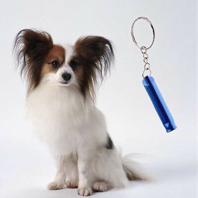 Pet Dog Training Obedience Metal Whistle UltraSonic Supersonic Sound Pitch  #3YE