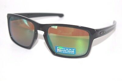 e13acfb332 Oakley Sliver Polarized Sunglasses OO9262-38 Polished Black W  Shallow H20  Prizm
