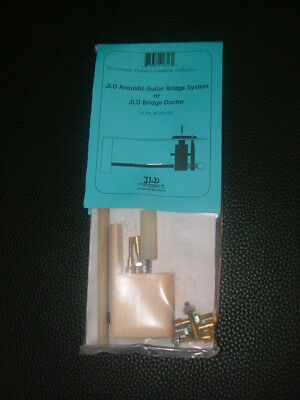 JLD Bridge Doctor System for Bowed/Bellied/Warped Guitar Top, Brass Pin Mount