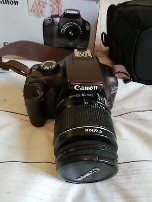 CANON EOS 1100D DigitaL Camera with EF-S 18-55mm Lens *Low