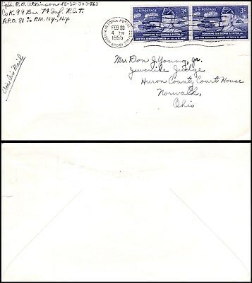 Goldpath: US cover 1955, APO ARMY-AIR FORCE POSTAL SERVICE,  _CV25_P8