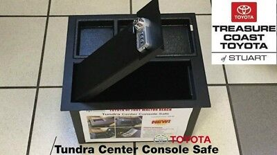 New Oem Toyota Tundra Center Console Safe 2014-2019
