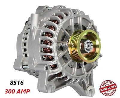 300 Amp 8516 Alternator Ford Mustang 4.6L High Output Performance HD NEW USA