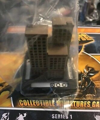 Monsterpocalypse Miniatures Game Xtra Apartment Building Privateer Press Rise S1