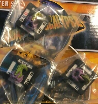 Monsterpocalypse Miniatures Game Xtra Spitter Figures X3 Privateer Press Rise S1