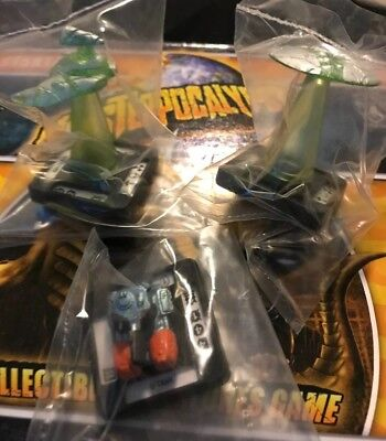 Monsterpocalypse Miniatures Game Xtra Vehicle Figures X3 Privateer Press Rise S1