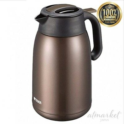 Tiger MMJ-A036-TV Inox Thermos Bouteille SAHARA Mug 0.36 L Marron