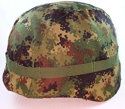 Serbian Army M10 Digital Camouflage Hel Met Cover Mile Dragic Production