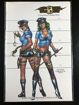 Tomb Raider 16 Jay Company Cover Top Cow 2005 Wizard World Chicago Exclusive G5