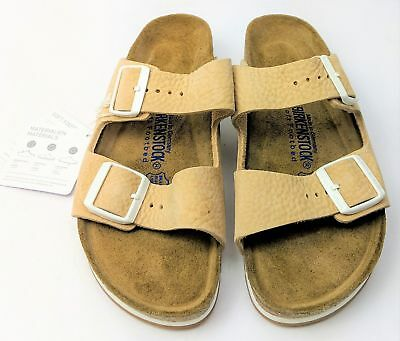 266d9bd5a5b BIRKENSTOCK ARIZONA 951301 Size 39 L8M6R Taupe Suede Soft footbed ...