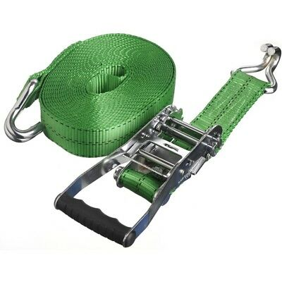 30 ft x 2 in - Ratchet Tie-Down with Chrome J-Hooks - rated 10,000lbs P/N 61330
