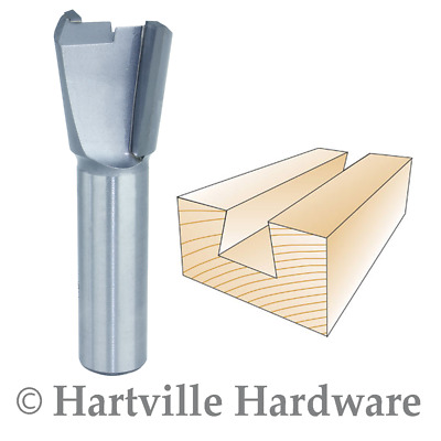 "1/2S 7/8"" Dovetail Bit 7 Degree Left-Hand"