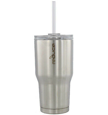 reduce COLD-1 Vacuum Insulated Tumbler w/Straw 30oz-Stainless Steel