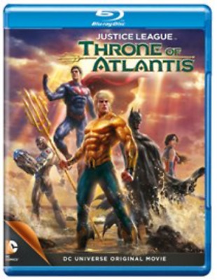 Justice League: Throne of Atlantis Blu-Ray NEW