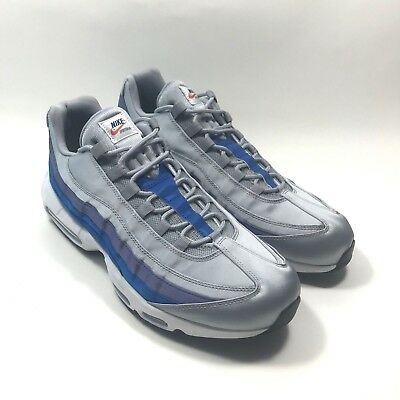 2b44f607fa New Nike Air Max 95 Essential Size 10 mens Wolf Grey Blue Nebula AJ2018-001