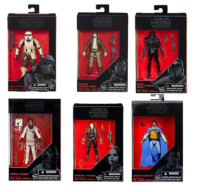 "Star Wars The Black Series 3.75"" Figures 6-Pack Combo Pack NEW IN BOX"