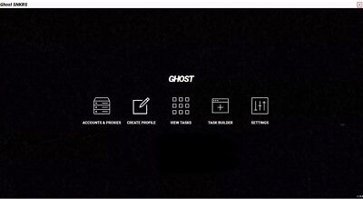 Ghost SNKRS Bot -Nike, Jordan, Off White, Sneakers