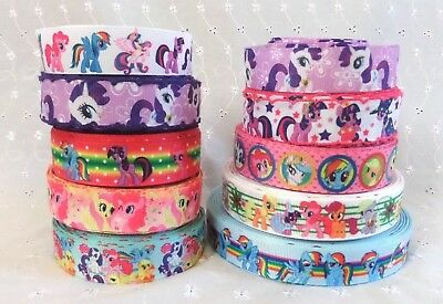 20CG MY LITTLE PONY 22mm 7//8inch grosgrain ribbon,