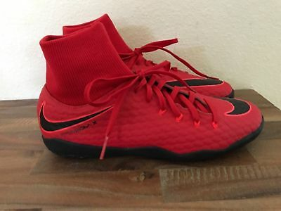 78812110a Nike Hypervenom X Phelon Iii Df Ic Indoor Soccer Shoes Size 8 Red 917768-616