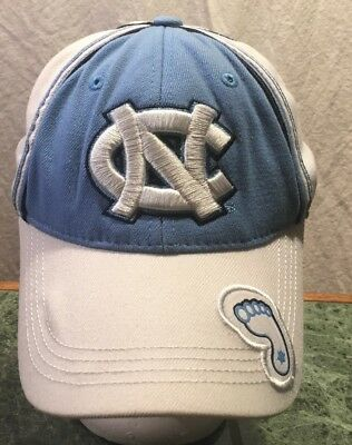 sale retailer 0415b 03d20 North Carolina Tar Heels Top of the World One Fit Hat One Fit- Blue White