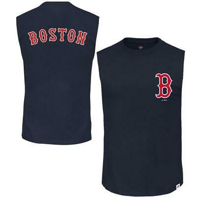 Englewood Muscle Tee Boston Red Sox (Navy)