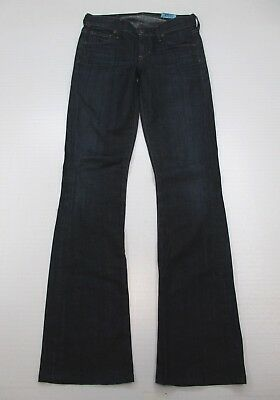 CITIZENS OF HUMANITY Jeans Women Size 25 Low Rise Dark Wash Kelly Bootcut  WA3572 e0e2e8164