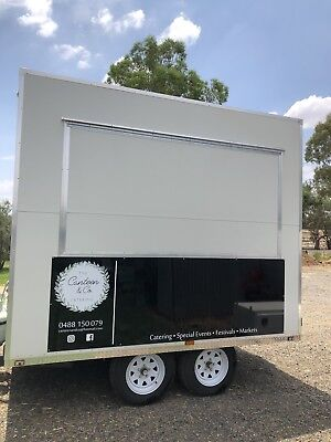 Commercial Food Trailer