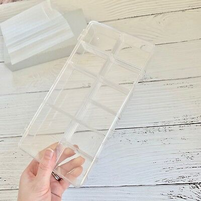 10 Spaces Acrylic Nail Tips Art Clear Storage Box