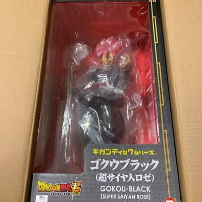 X-Plus Dragon Ball Super Gokou Black Super Saiyan Rose Figure JAPAN NEW FS //PSL