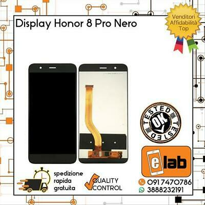 Display Lcd Touch Screen Per Huawei Honor 8 Pro Nero Duk-L09 Al20 Schermo